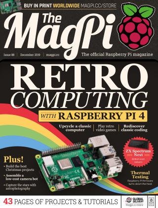 The MagPi magazine December2019