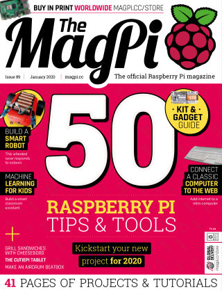 The MagPi magazine January 2020