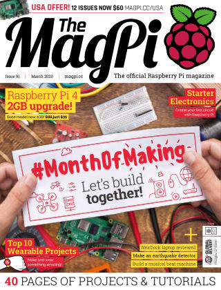 The MagPi magazine march2020