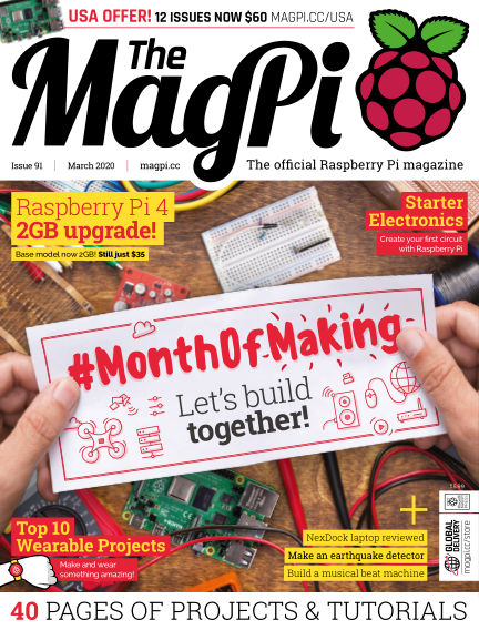 The MagPi magazine February 27, 2020 00:00