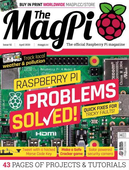 The MagPi magazine March 26, 2020 00:00