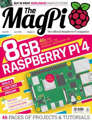 The MagPi magazine june2020