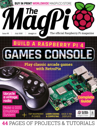 The MagPi magazine july2020
