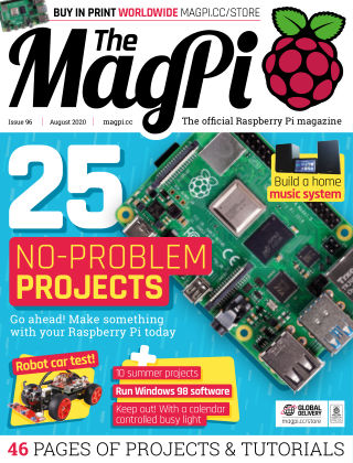 The MagPi magazine august2020