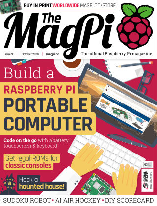 The MagPi magazine october2020