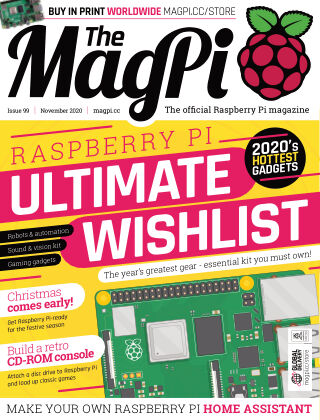 The MagPi magazine November 2020