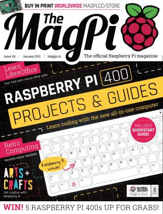 The MagPi magazine January 2021