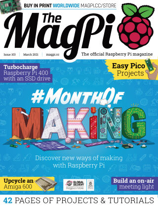 The MagPi magazine march2021