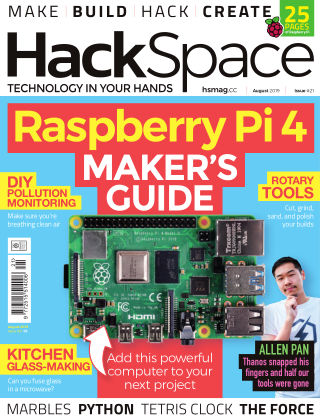 HackSpace magazine August2019