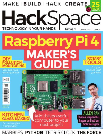 HackSpace magazine July 18, 2019 00:00