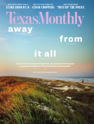TEXAS MONTHLY August 2020