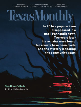 TEXAS MONTHLY October 2020