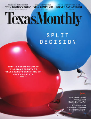 TEXAS MONTHLY November 2020