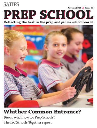 Prep School magazine September 2016