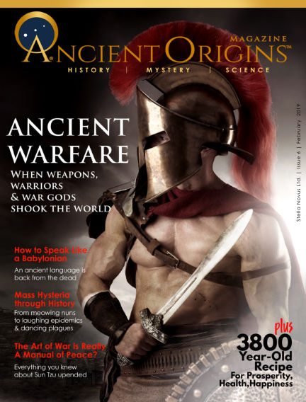 Ancient Origins Magazine (History, Mystery and Science) February 22, 2019 00:00