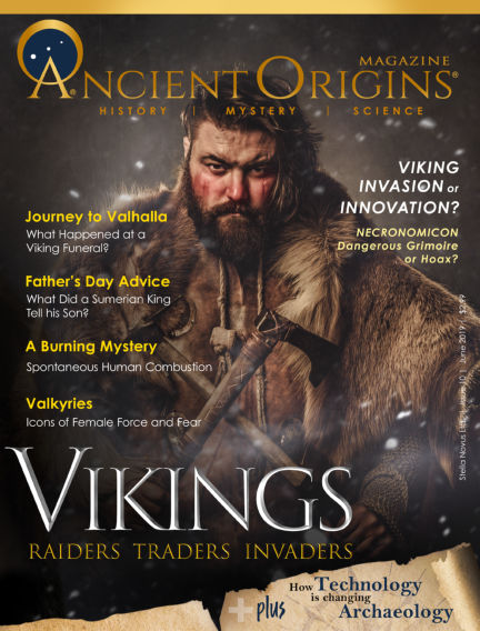 Ancient Origins Magazine (History, Mystery and Science) June 15, 2019 00:00