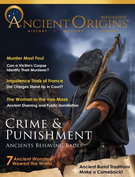 Ancient Origins Magazine (History, Mystery and Science) September 15, 2019 00:00