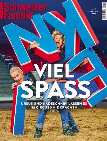 Schweizer Familie  March 12, 2020 00:00
