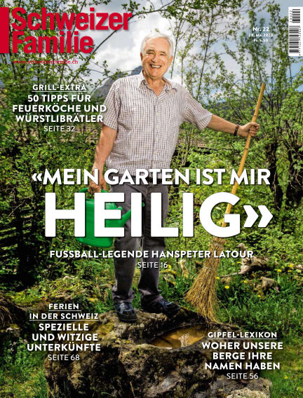 Schweizer Familie  May 28, 2020 00:00