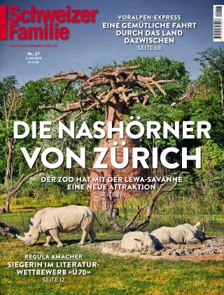 Schweizer Familie 27-2020