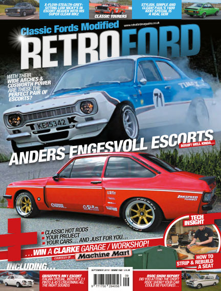Retro Ford Magazine August 09, 2019 00:00