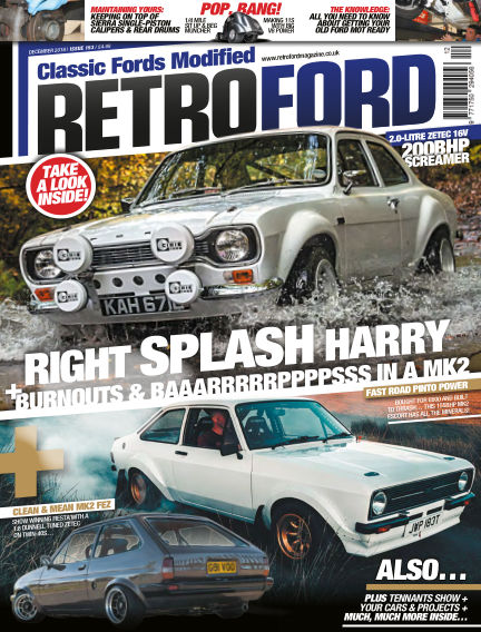 Retro Ford Magazine November 01, 2018 00:00