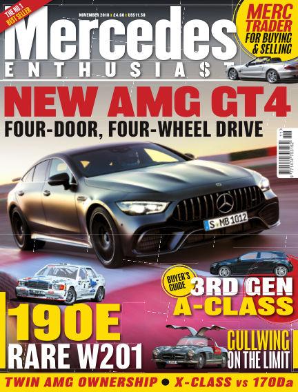 Mercedes Enthusiast October 19, 2018 00:00