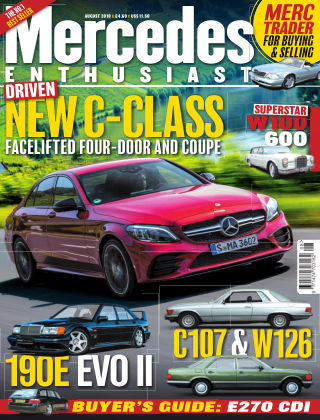 Mercedes Enthusiast August 2018