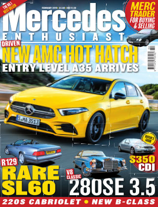 Mercedes Enthusiast February 2019