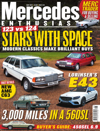 Mercedes Enthusiast May 2018