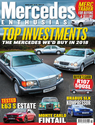 Mercedes Enthusiast March 2018