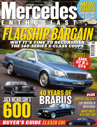 Mercedes Enthusiast January 2018