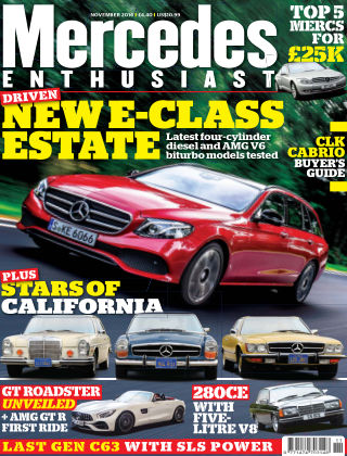 Mercedes Enthusiast November 2016