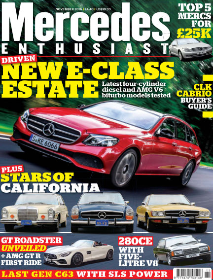 Mercedes Enthusiast October 21, 2016 00:00