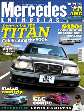 Mercedes Enthusiast September 2016