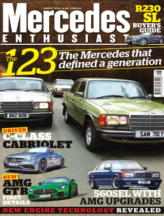 Mercedes Enthusiast August 2016
