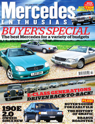 Mercedes Enthusiast July 2016