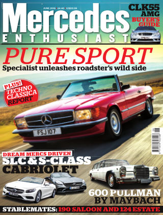 Mercedes Enthusiast June 2016