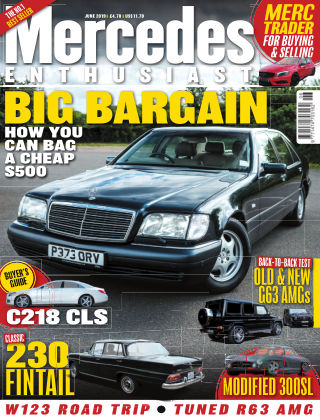 Mercedes Enthusiast June 2019