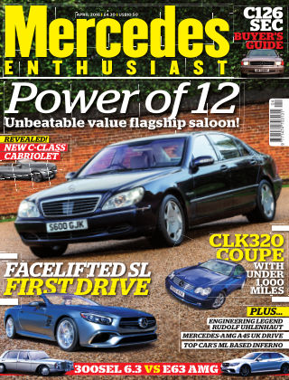 Mercedes Enthusiast April 2016