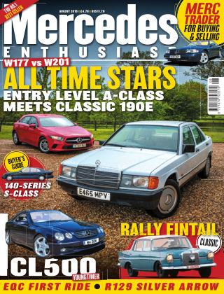 Mercedes Enthusiast August 2019