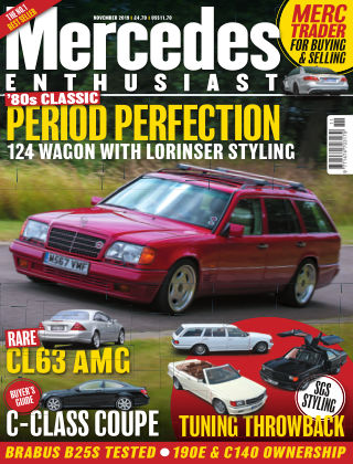 Mercedes Enthusiast November 2019