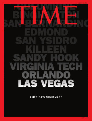 Time Magazine Europe October 16, 2017