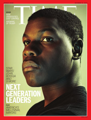 Time Magazine Europe October 23, 2017