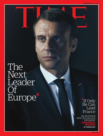 Time Magazine Europe November 11, 2017 00:00