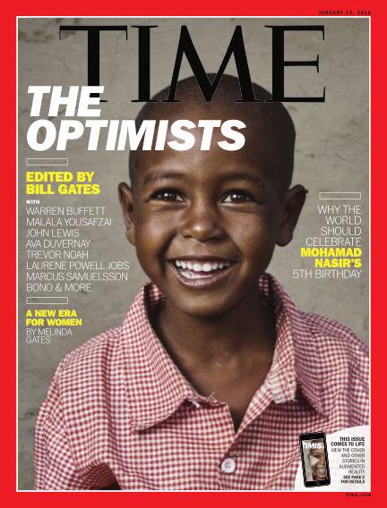 Time Magazine Europe January 05, 2018 00:00