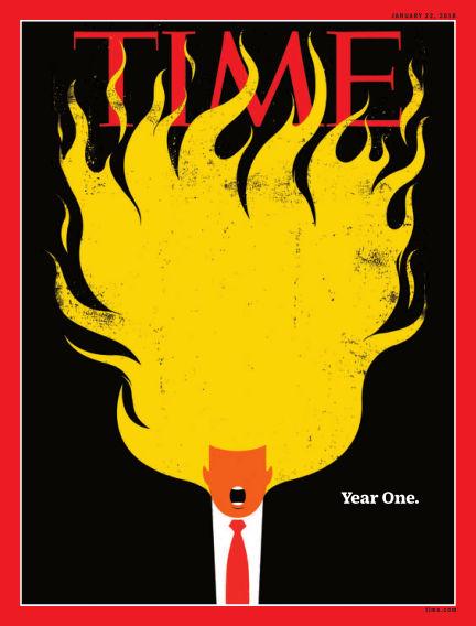 Time Magazine Europe January 13, 2018 00:00