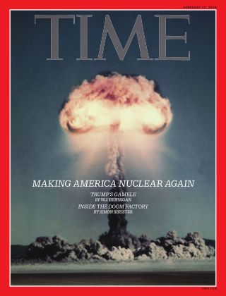 Time Magazine Europe Feb 12, 2018