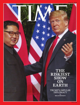 Time Magazine Europe June 25th, 2018