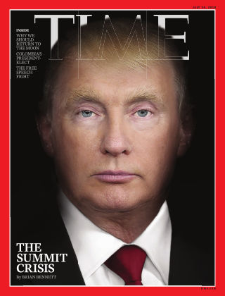 Time Magazine Europe 21st June 2018